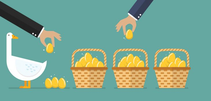 Even if you have a goose that lays the golden egg, multiple savings accounts can help you save