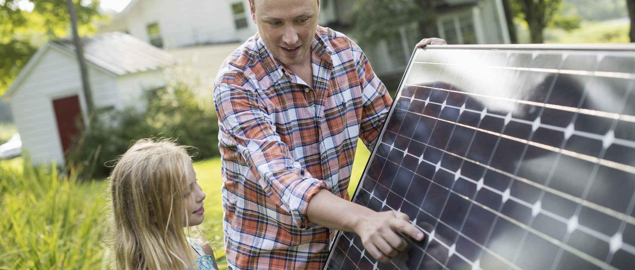 Installing solar panels can help you go off the grid