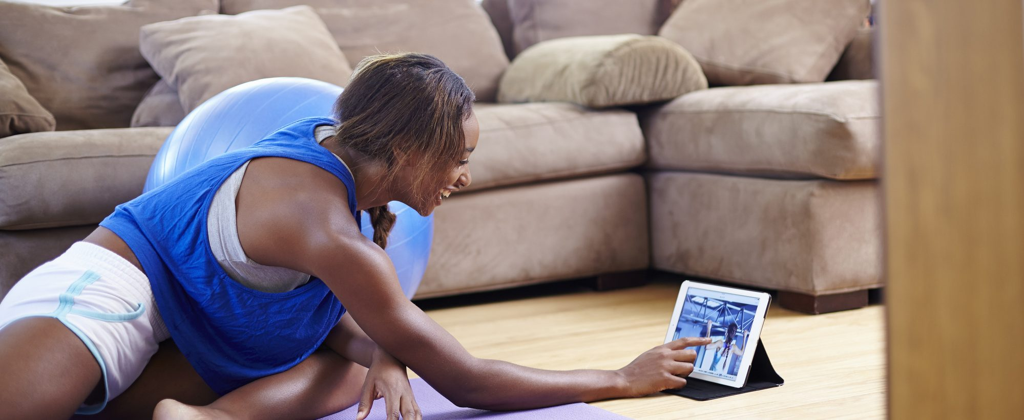 Working out at home is a cost-effective way to stay in shape