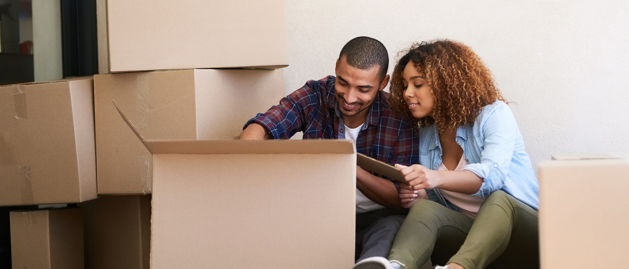 Online checking gives you one less thing to worry about during your move