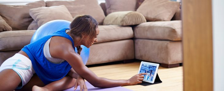 Working out at home instead of paying for an expensive gym membership is one example of lifestyle changes that will save you money.