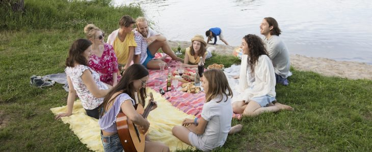 Going on a picnic is one of the easiest ways to have fun without spending money.