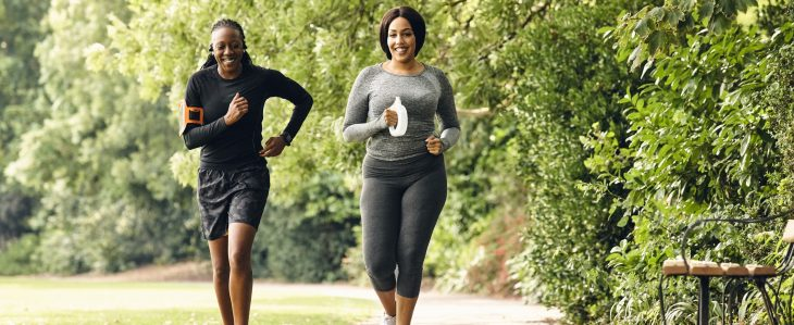 Tips for getting fit on a budget include getting outside for fresh air and a good workout.