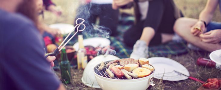 If you're camping, cooking your own food and carrying snacks are two smart ways to save money at festivals.