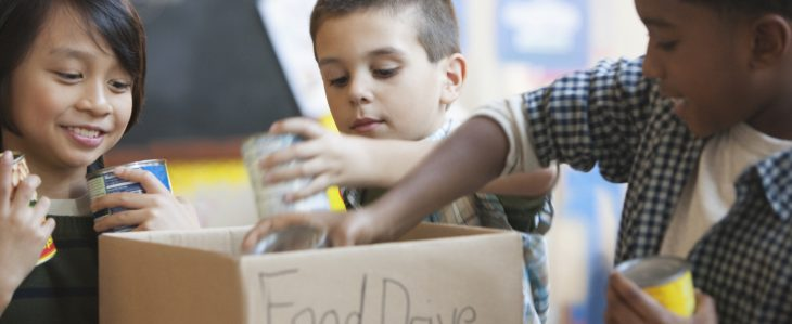 For inexpensive ways to keep your kids busy, consider doing good deeds as a family.